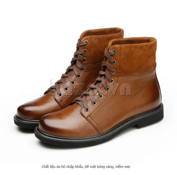 Giày nam cao cổ Olunpo DLY1206 giữ ấm chân ngày đông