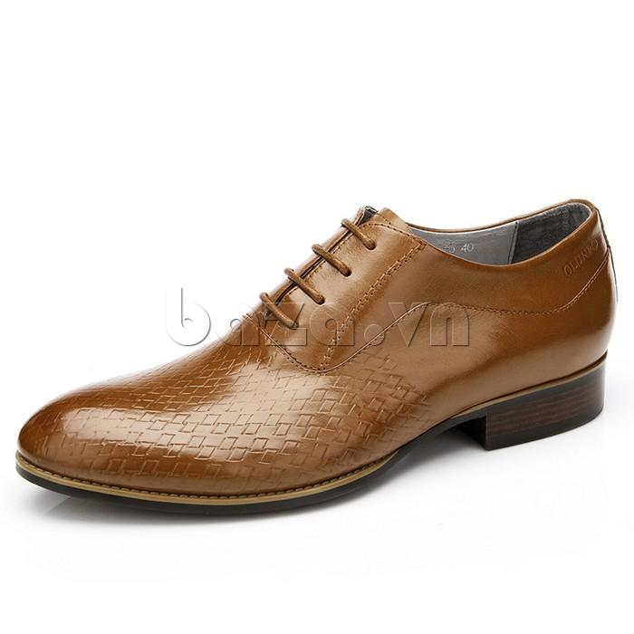 Giày da nam Olunpo QABA1226 màu vàng nâu