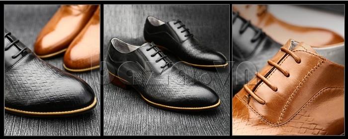 Giày da nam Olunpo QABA1226 thời trang