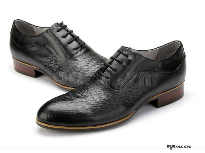 Giày da nam Olunpo QABA1226 tinh tế đến từng chi tiết