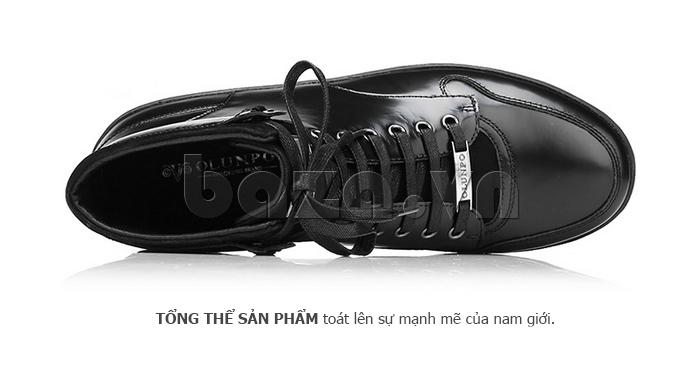 Giày da nam Olunpo DHT1443 da bò nổi bật