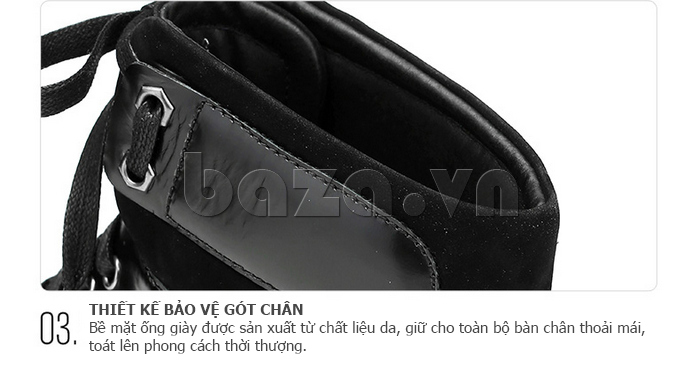Giày da nam Olunpo DHT1443 bền đẹp tuyệt vời