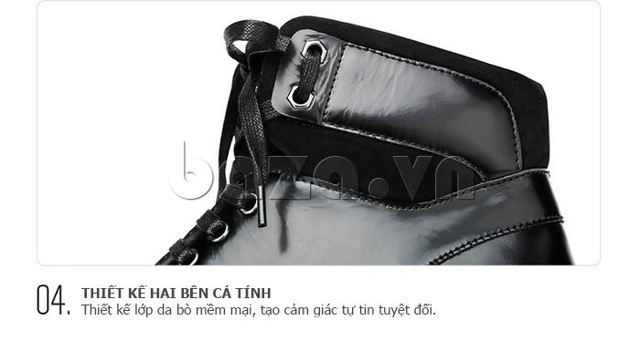 Giày da nam Olunpo DHT1443 thiết kế đẹp