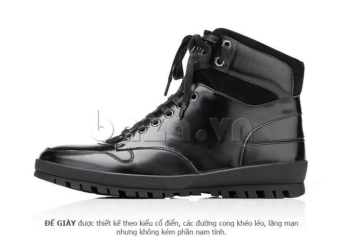 Giày da nam Olunpo DHT1443 da bò chất lượng