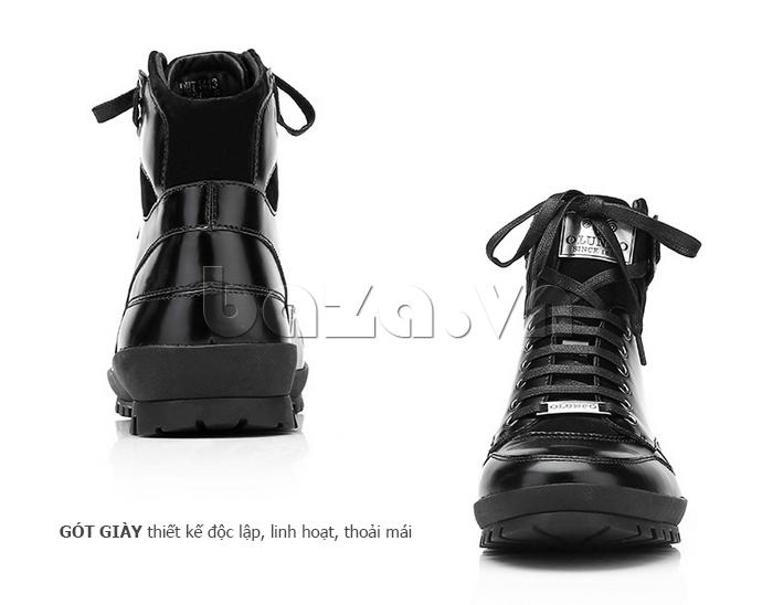Giày da nam Olunpo DHT1443 da bò tinh xảo