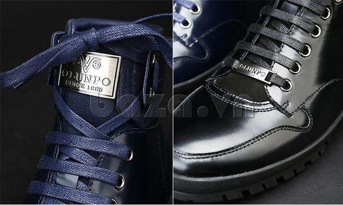 Giày da nam Olunpo DHT1443 da bò
