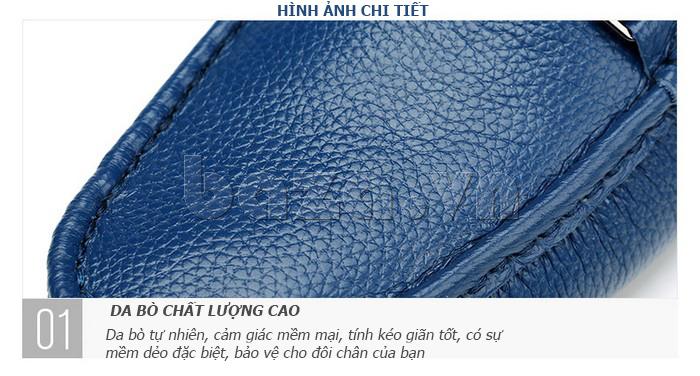 Giày lười nam thời trang Olunpo CZYA1501 - da bò chất lượng cao
