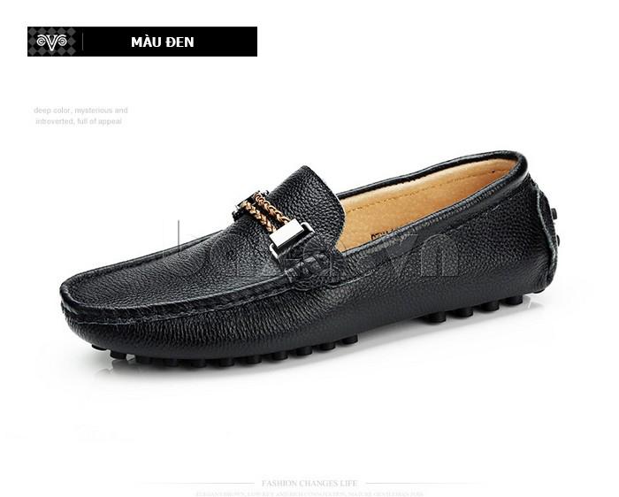 Giày lười nam thời trang Olunpo CZYA1501 màu đen