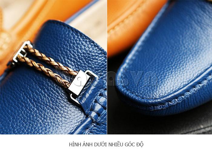 Giày lười nam thời trang Olunpo CZYA1501 tinh xảo từng chi tiết