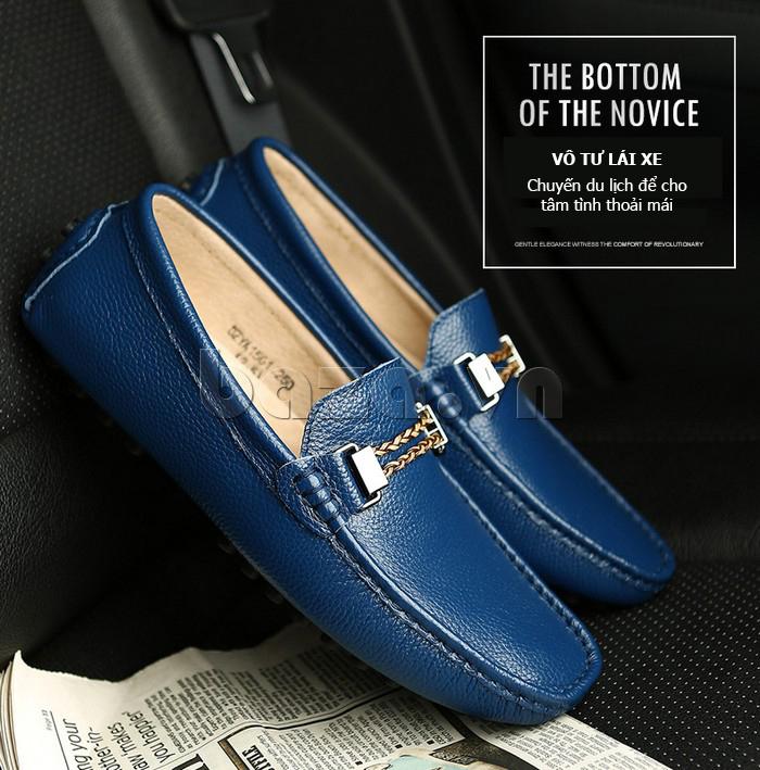 Giày lười nam thời trang Olunpo CZYA1501