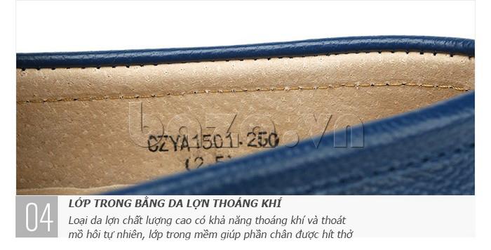 Giày lười nam thời trang Olunpo CZYA1501 - lớp lót da thuộc