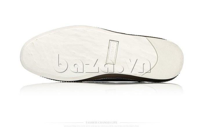 Giày da nam đục lỗ thời trang Olunpo XBS1501 cá tính