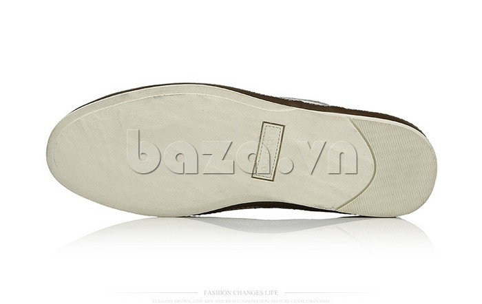 Giày da nam đục lỗ thời trang Olunpo XBS1501 phong cách
