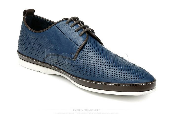 Giày da nam đục lỗ thời trang Olunpo XBS1501 - giày công sở