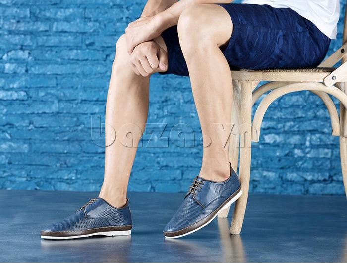 Giày da nam đục lỗ thời trang Olunpo XBS1501 - phong cách cuốn hút
