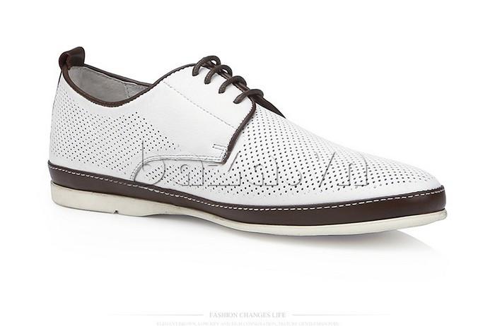 Giày da nam đục lỗ thời trang Olunpo XBS1501 nổi bật
