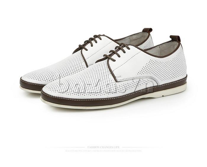 Giày da nam đục lỗ thời trang Olunpo XBS1501 ấn tượng