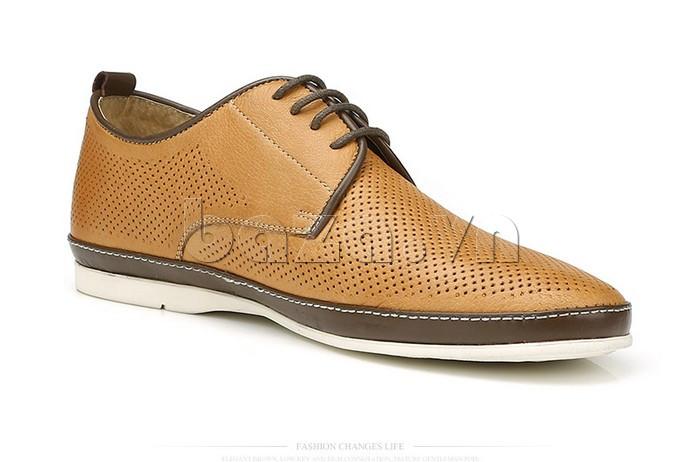 Giày da nam đục lỗ thời trang Olunpo XBS1501 tinh xảo