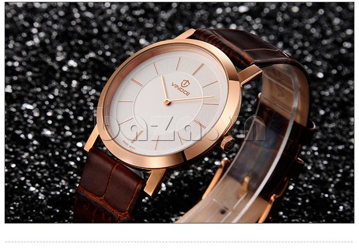 Đồng hồ nam siêu mỏng Vinoce V8350G thiết kế nổi bật