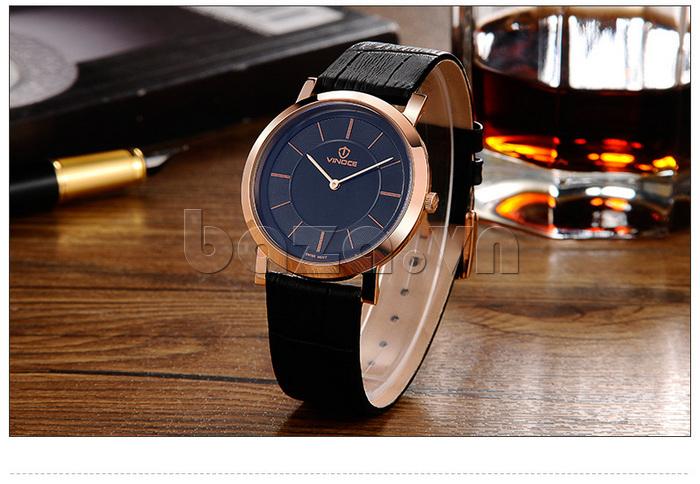 Đồng hồ nam siêu mỏng Vinoce V8350G thiết kế ấn tượng