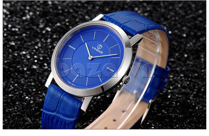 Đồng hồ nam siêu mỏng Vinoce V8350G thiết kế tuyệt