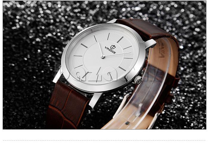 Đồng hồ nam siêu mỏng Vinoce V8350G thiết kế hoàn mỹ