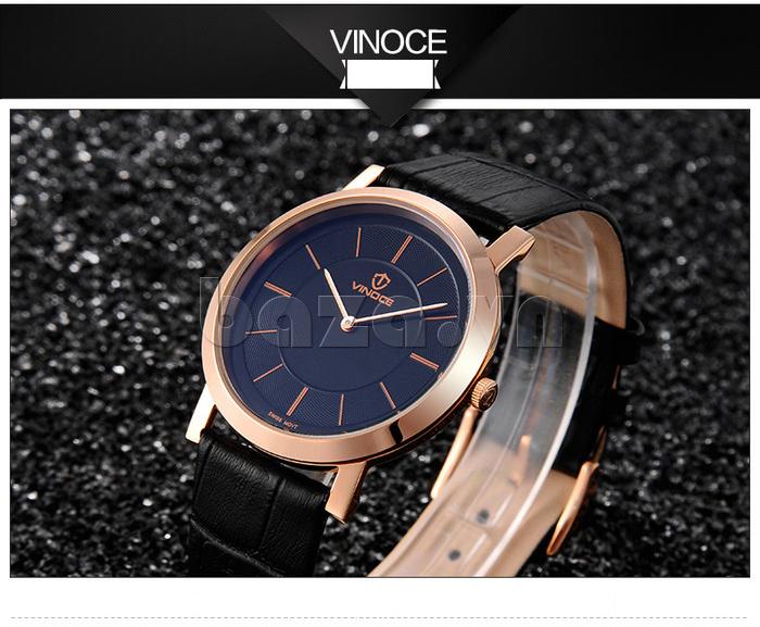 Đồng hồ nam siêu mỏng Vinoce V8350G thiết kế lạ