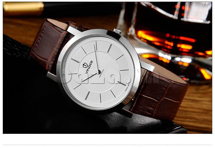 Đồng hồ nam siêu mỏng Vinoce V8350G thiết kế chất lượng