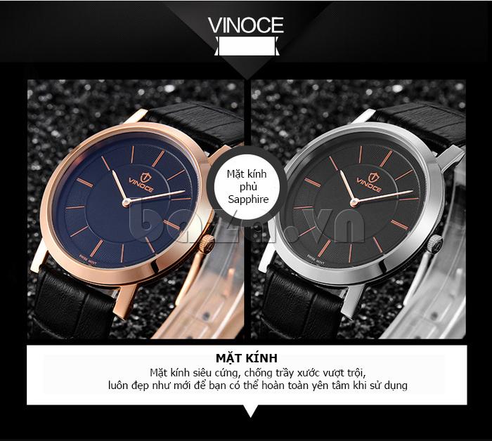 Đồng hồ nam siêu mỏng Vinoce V8350G thời trang