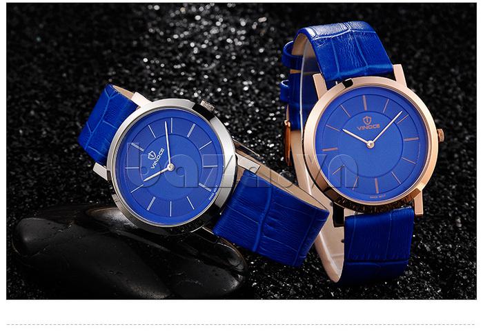 Đồng hồ nam siêu mỏng Vinoce V8350G thiết kế chính hãng