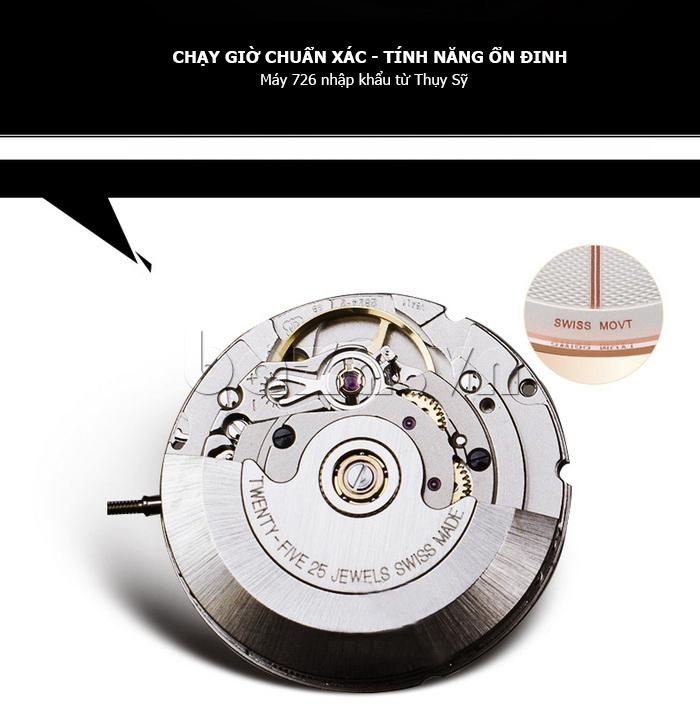 Đồng hồ nam siêu mỏng Vinoce V8350G độc đáo