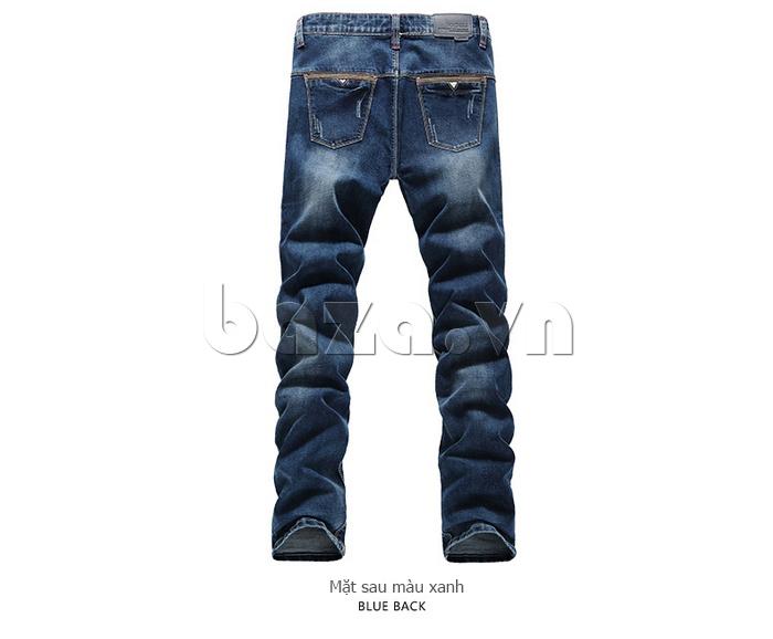 Quần jeans nam mài xước No1dara KZ11007  trẻ trung