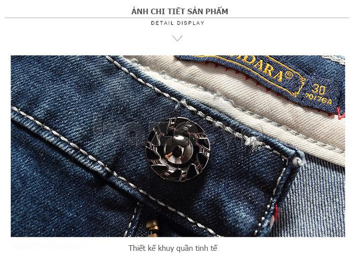 Quần jeans nam mài xước No1dara KZ11007  tinh tế