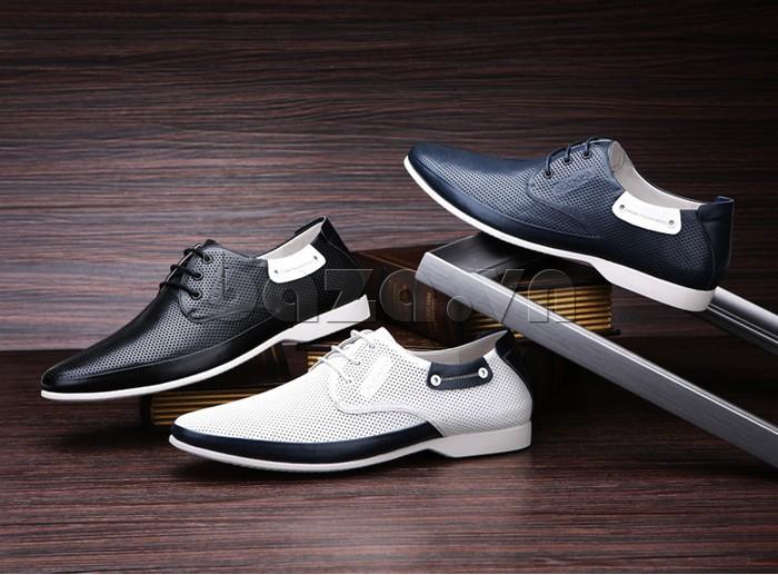 giày nam Olunpo XHT1402 có ba màu độc đáo cho bạn lựa chọn