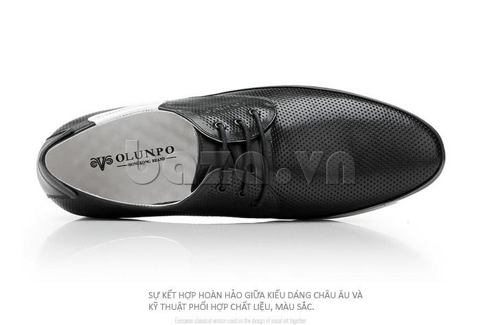 giày nam Olunpo XHT1402 là sự kết hợp hoàn hảo giữa Châu Âu và châu á