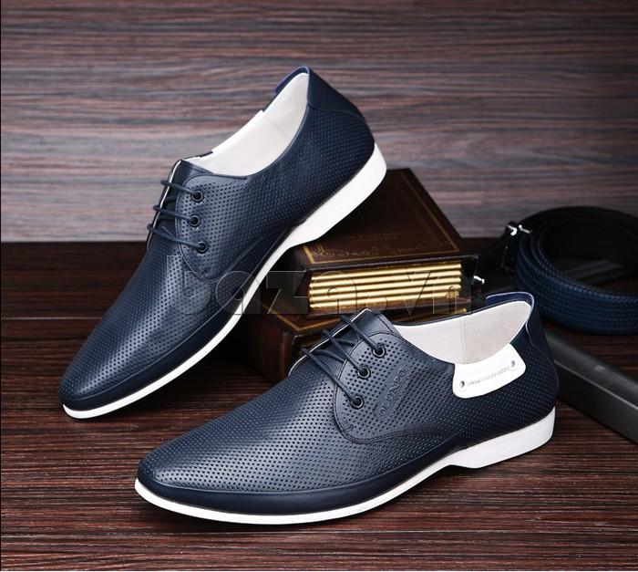 giày nam Olunpo XHT1402 màu xanh sang trọng thể hiện đẳng cấp