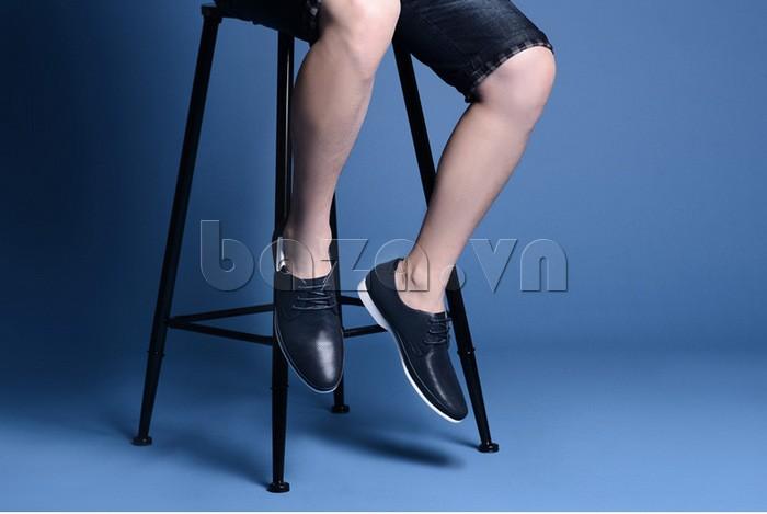 giày nam Olunpo XHT1402 giúp đôi chân khô thoáng suốt cả ngày dài hoạt động