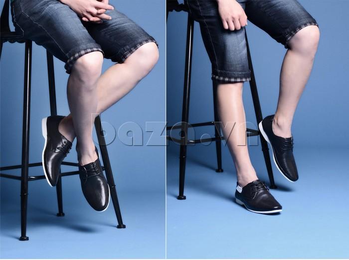 giày nam Olunpo XHT1402 dễ dàng ghi điểm trong mắt phái nữ