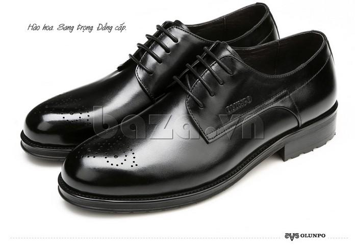 Giày nam Olunpo QHSL1307 hào hoa, sang trọng, đẳng cấp