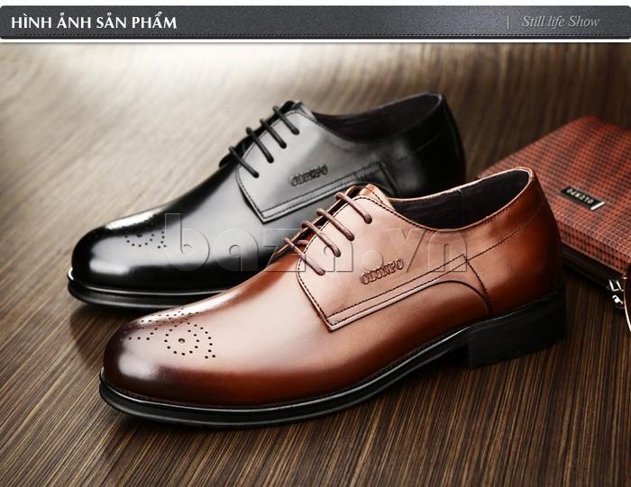 Hình ảnh sản phẩm cụ thể của Giày nam Olunpo QHSL1307