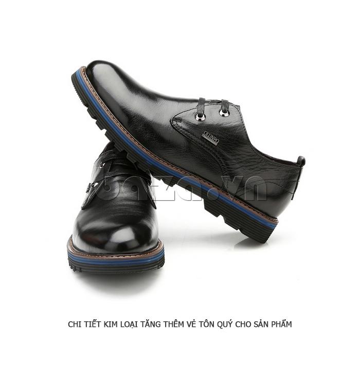 Giày da nam Olunpo QJY1405 ấn tượng
