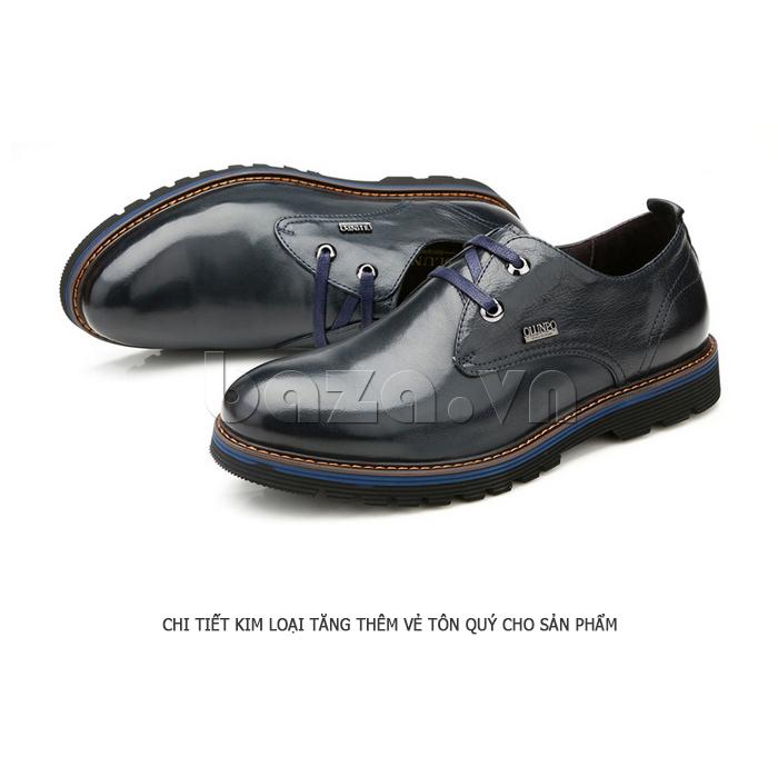 Giày da nam Olunpo QJY1405 cá tính