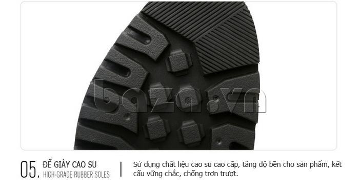 Giày da nam Olunpo QJY1405 đế cao su đàn hồi cao cấp