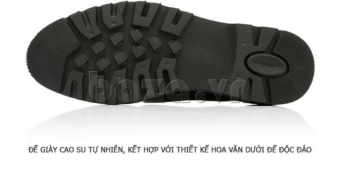 Giày da nam Olunpo QJY1405 làm từ đế giày cao su tự nhiên