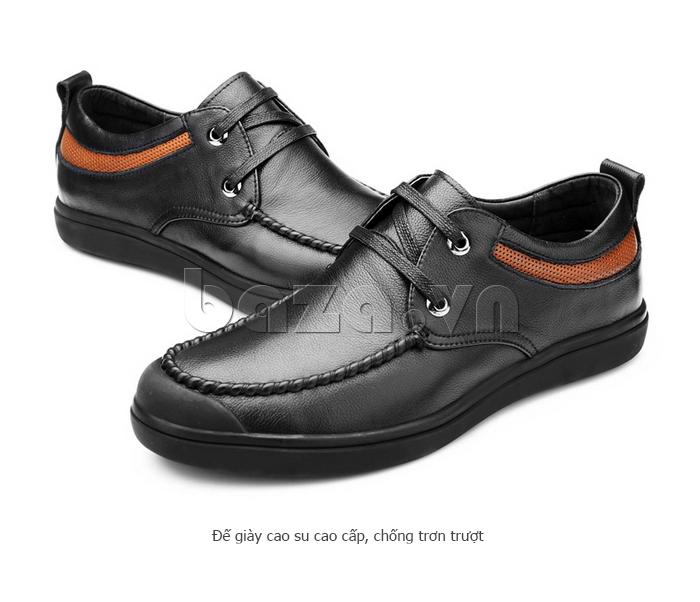 Giày da nam Olunpo QJY1404  chống thấm và chống ẩm