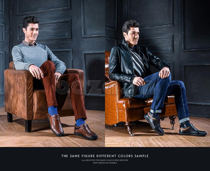 Giày da nam Olunpo QJY1404  thể hiện phong độ