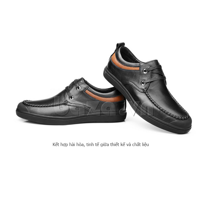Giày da nam Olunpo QJY1404  thiết kế tinh tế