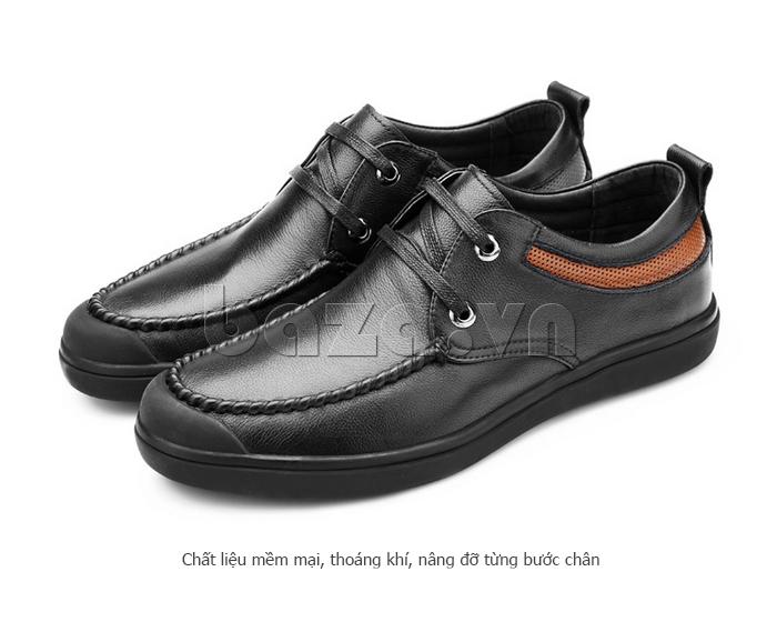 Giày da nam Olunpo QJY1404  nâng niu từng bước chân bạn