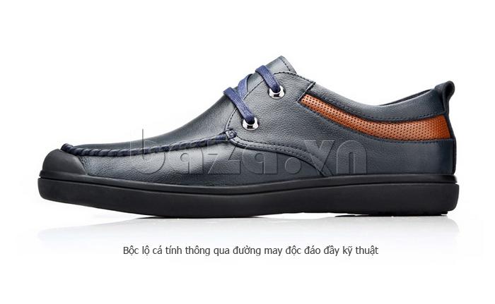 Giày da nam Olunpo QJY1404  giúp các chàng bộc lộ cá tính