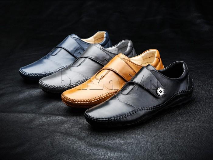 Giầy da nam Olunpo  với 4 phiên bản màu cho bạn lựa chọn